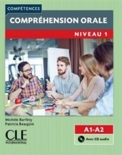 کتاب زبان فرانسه Comprehension orale 1 – Niveau A1/A2 + CD – 2eme edition رنگی