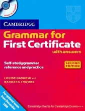 کتاب Cambridge grammar for first certificate with CD