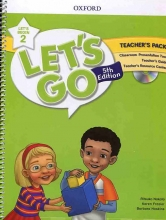 کتاب معلم Lets Go Begin 5th 2 Teachers Pack +DVD