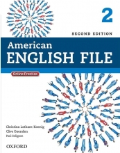 American English File 2nd 2 SB+WB+DVD کاغذ گلاسه
