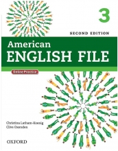 American English File 2nd 3 SB+WB+DVD